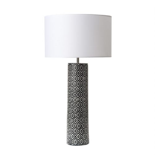 Ego Table Lamp Black/White Base Only